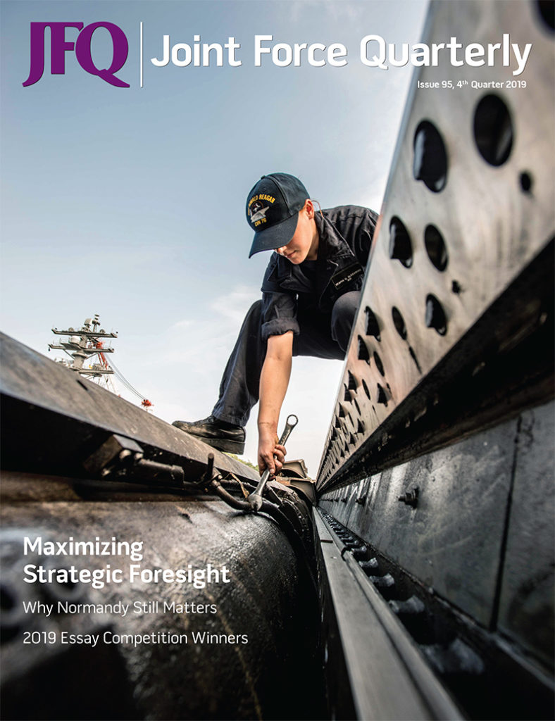 maximize strategic foresight for national security